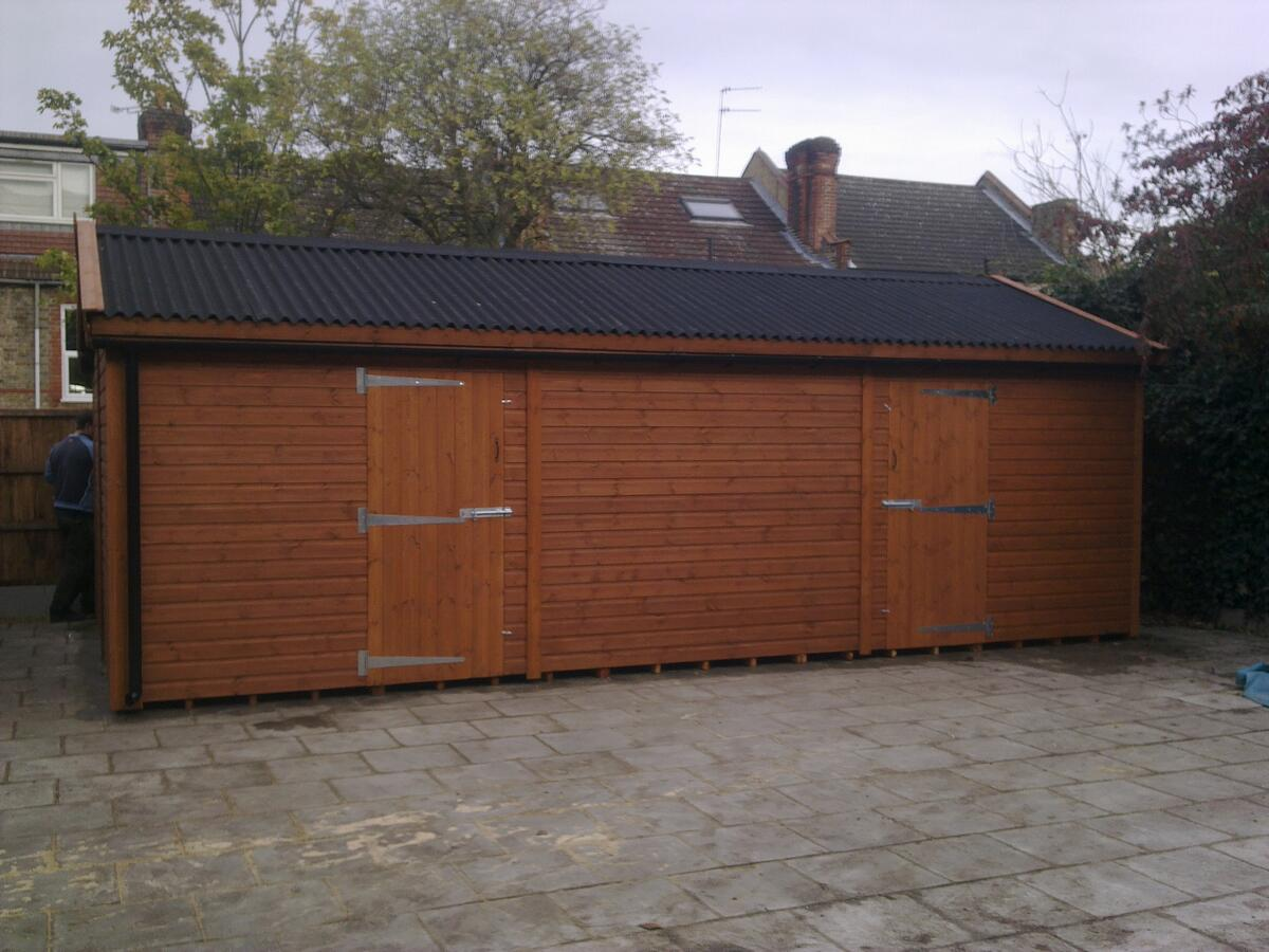 24 x 13 Plus Onduline Roofing and Ruttering