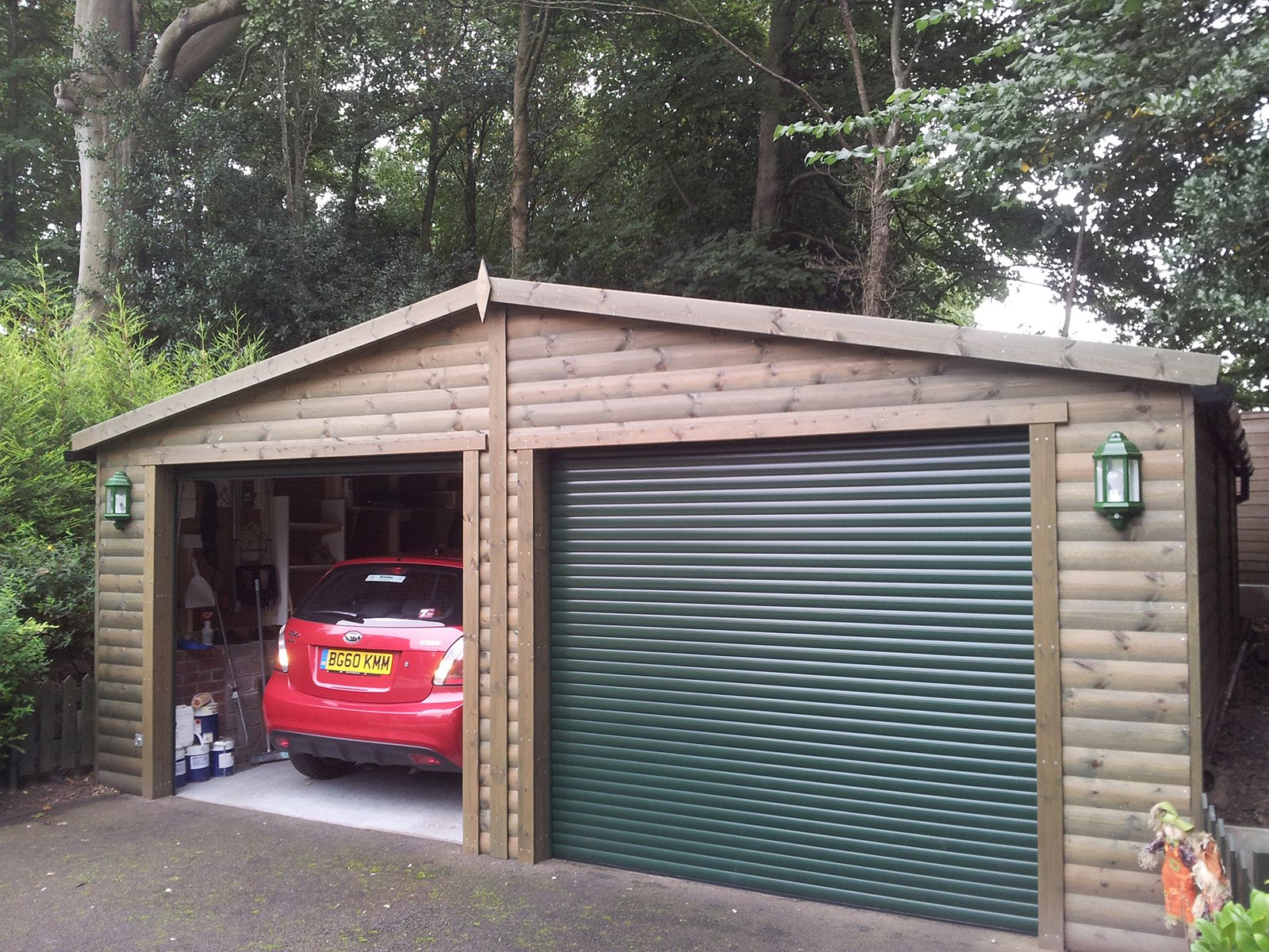 Triple garages made to order at great prices for Triple carport prices