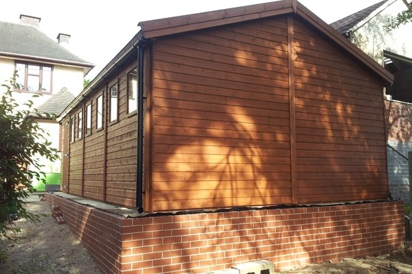 20×10 timber garage