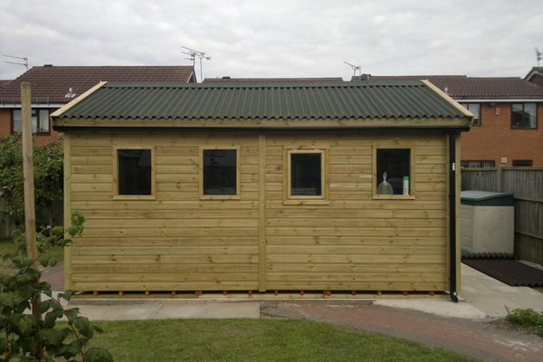 Small Timber Workshop