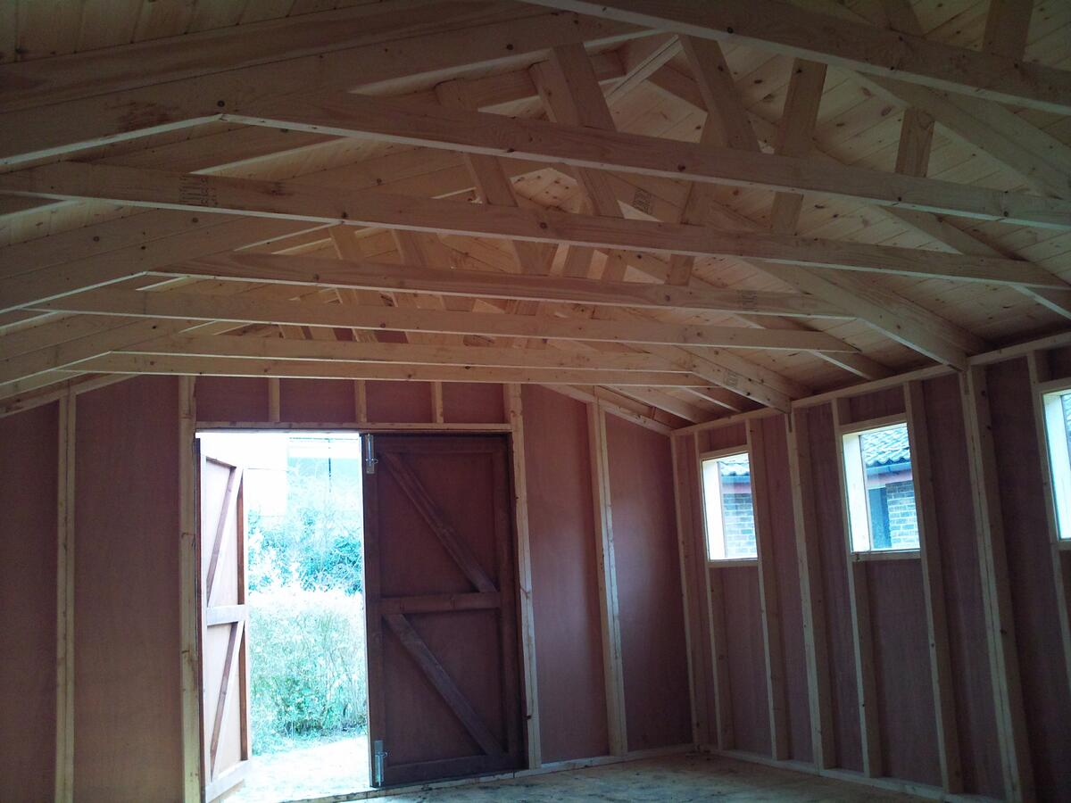 Strong Trussed Roofs
