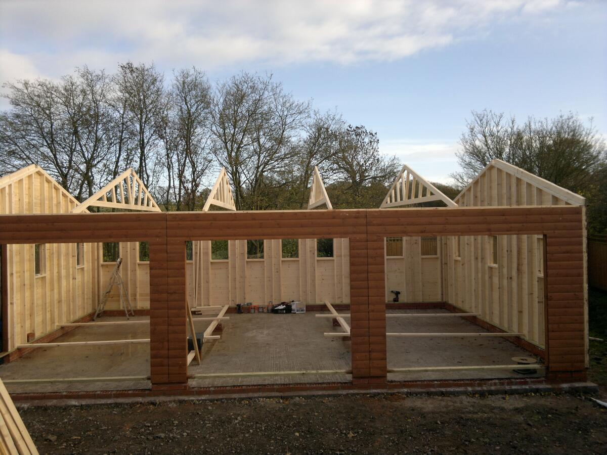 Garage Offices Triple Wooden Garages Trusted Uk Supplier For 19 Years
