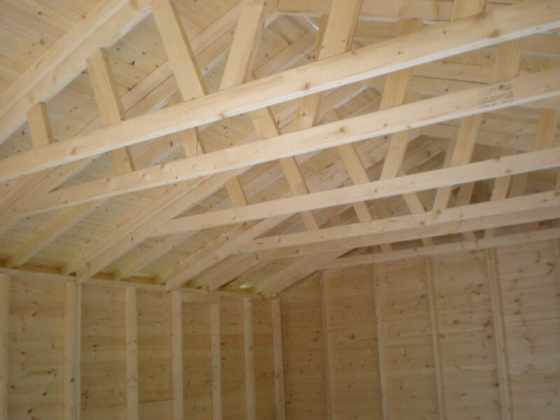 Trussed Roof Structure