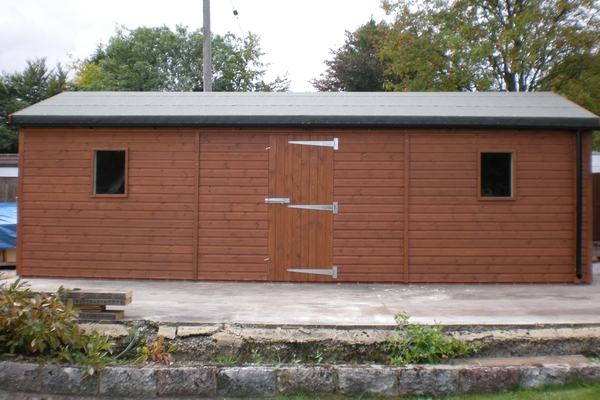 24 x 10 Single Garage