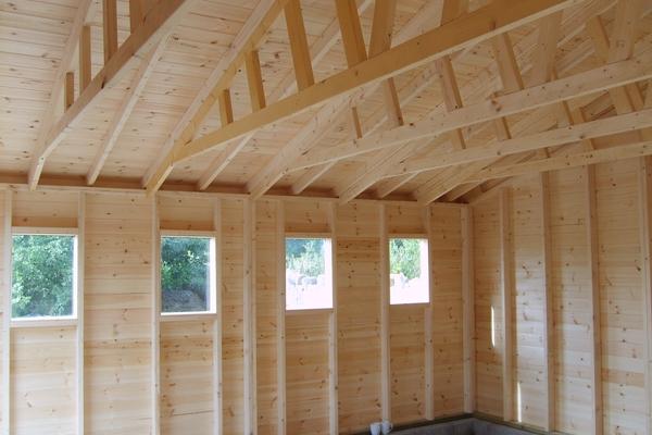 20 x 16 Wooden Double garage