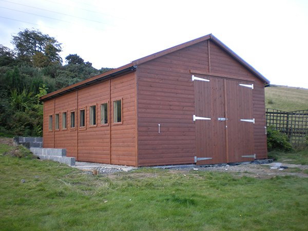 24x16 single timber garage made to order any size available for 24x16 shed