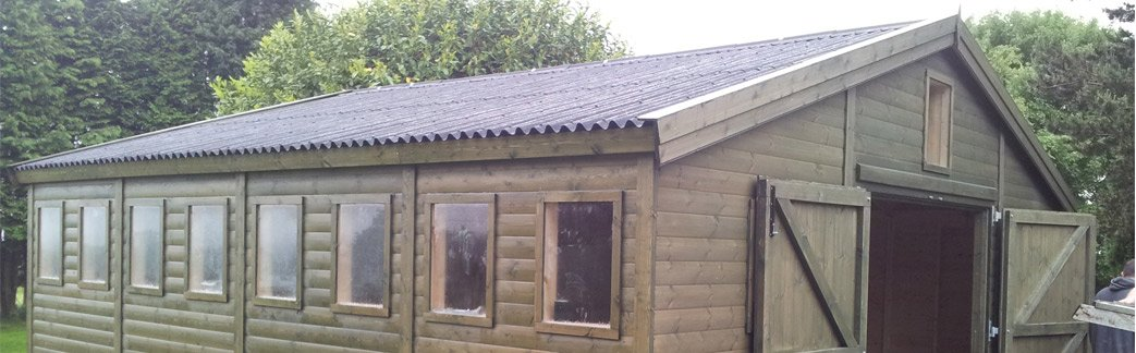 Large Sheds Bespoke Made Direct From Uk Manufacturer Any Size