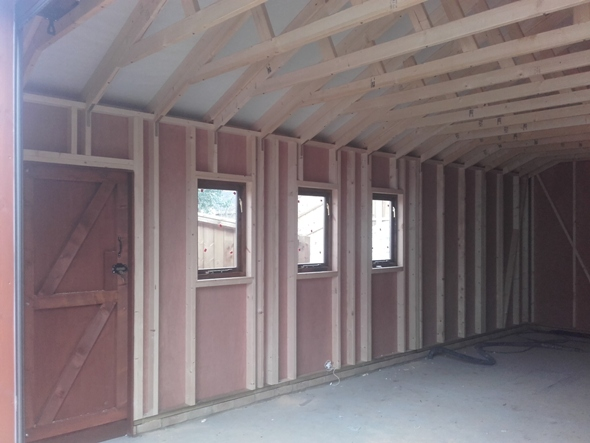 Loglap Garage 26 x 18