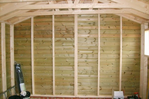 24 x 12 Timber Garage