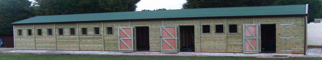 Long Timber Garage