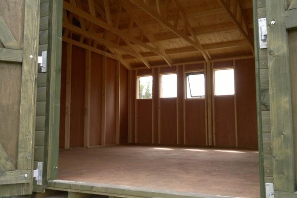 Inside Timber Workshop