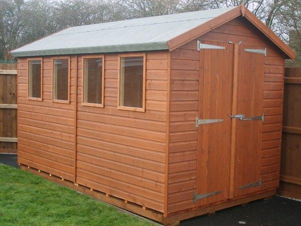 14 x 8 wooden workshop