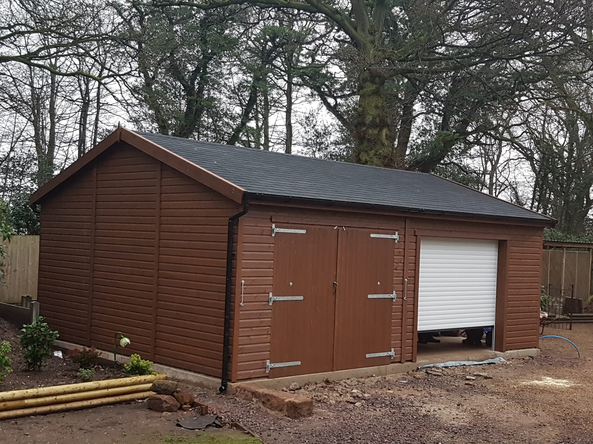 24 X 18 Bespoke Shiplap Garage