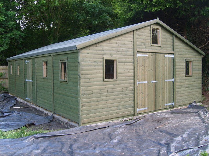 30 X 20 Timber Workshop