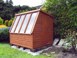 Standard potting shed 8ft x 6ft