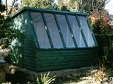 12ft x 8ft Green potting shed