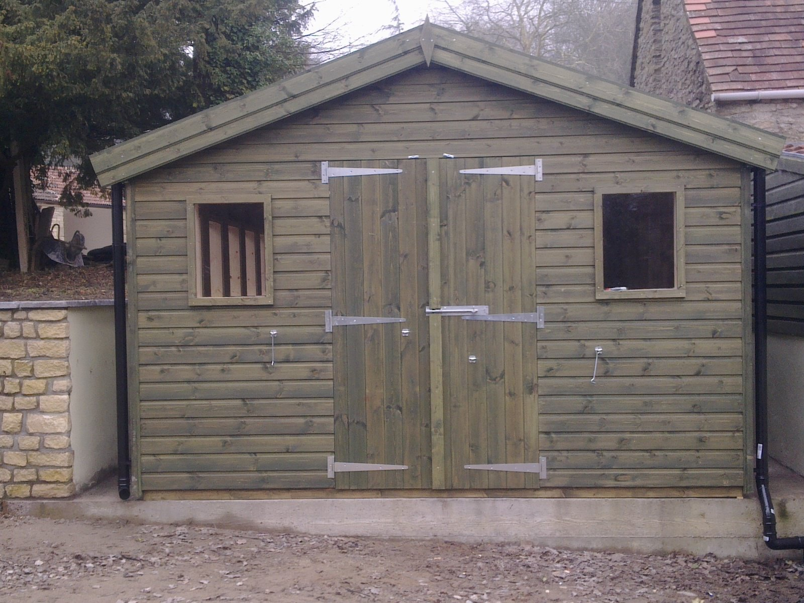 16×12 Timber Workshop