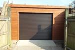 20 x 16 pent garage + Roller